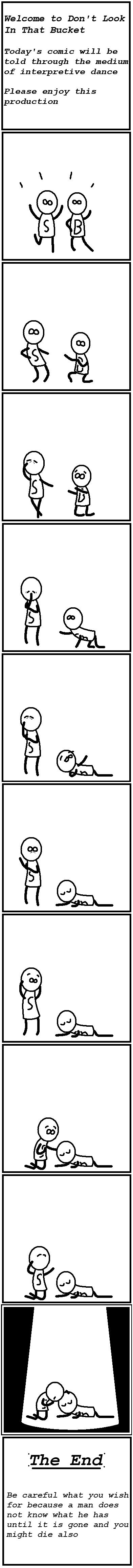 Interpretive comic