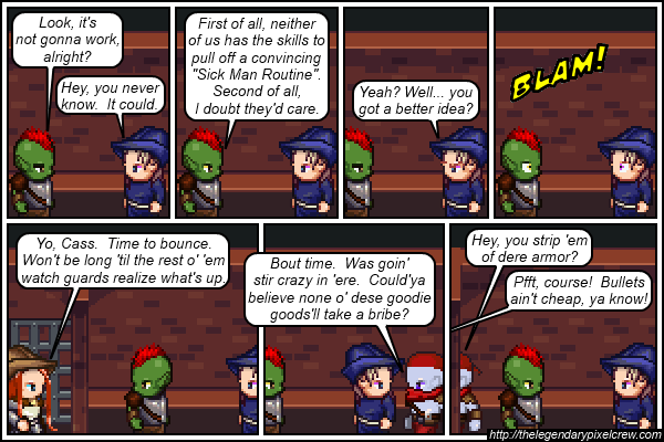 "Strip 224 - ""Jail break!"""