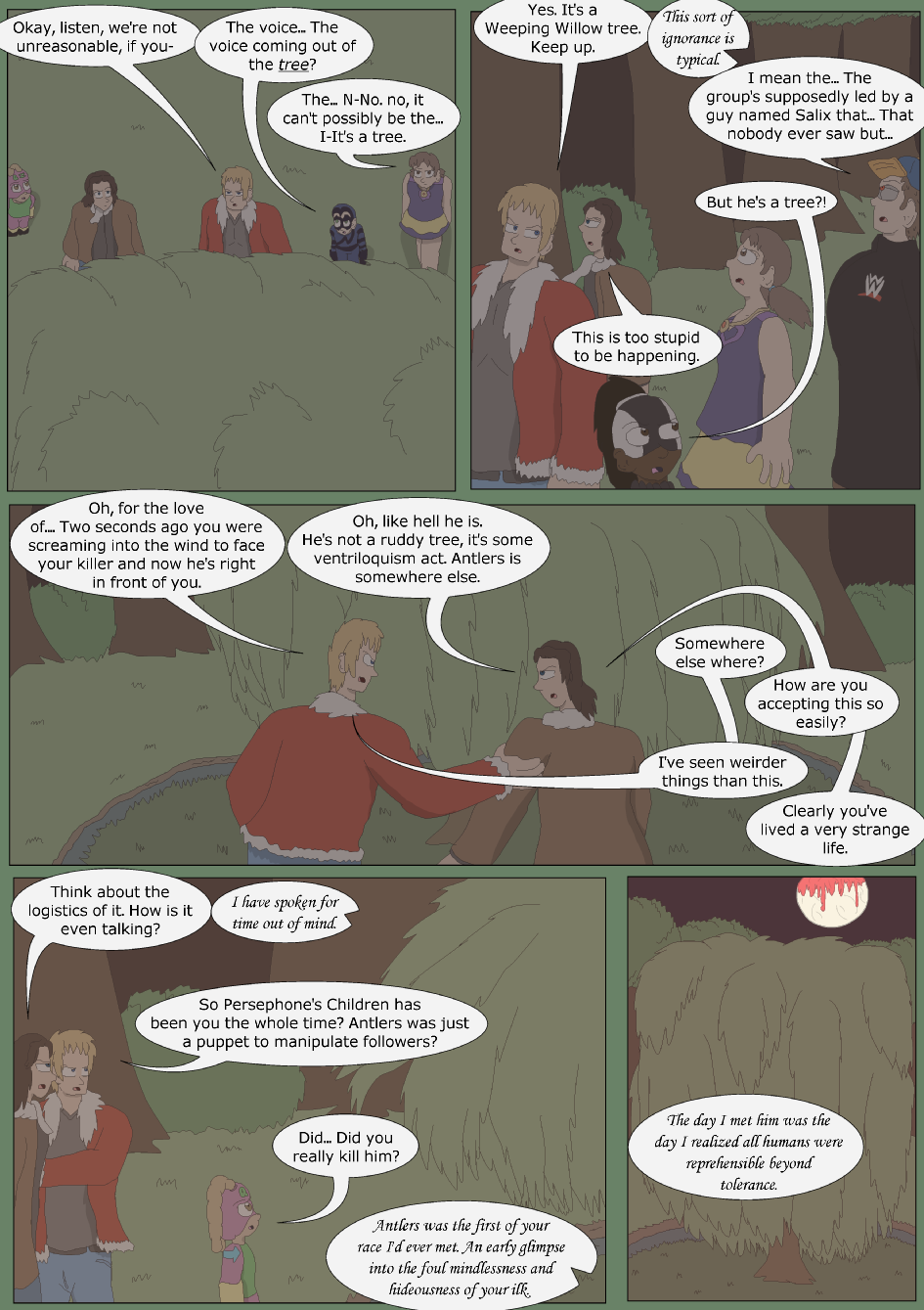 Blue vs. Green, Page 29