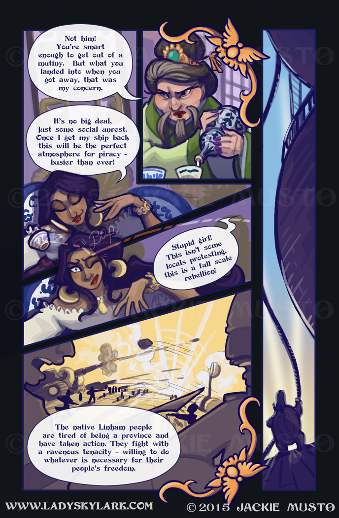 Lady Skylark and the Queen's Treasure - Page 183