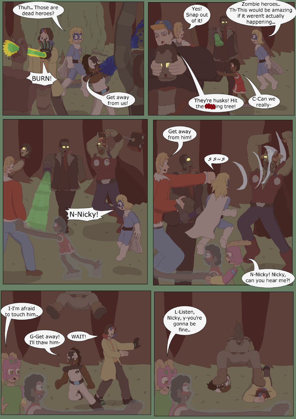 Blue vs. Green, Page 36
