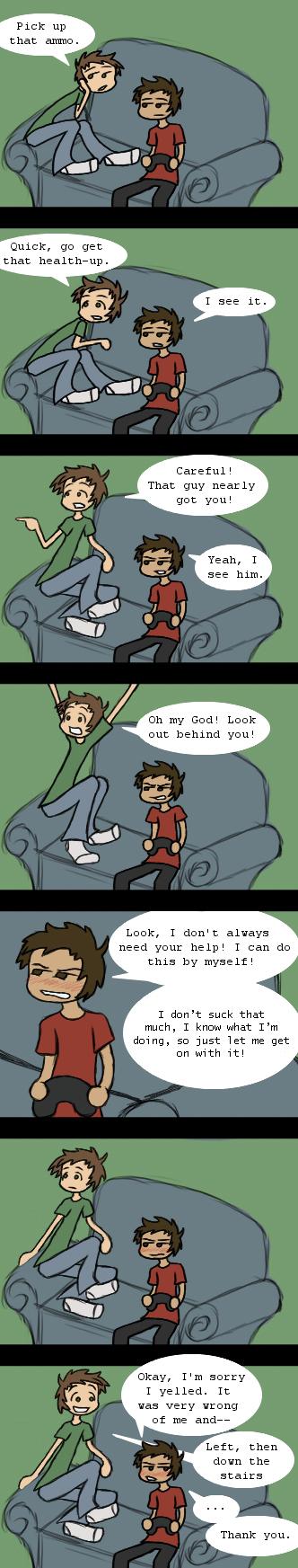 0002: Backseat Gamer
