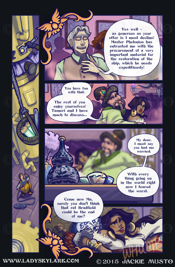 Lady Skylark and the Queen's Treasure - Page 182
