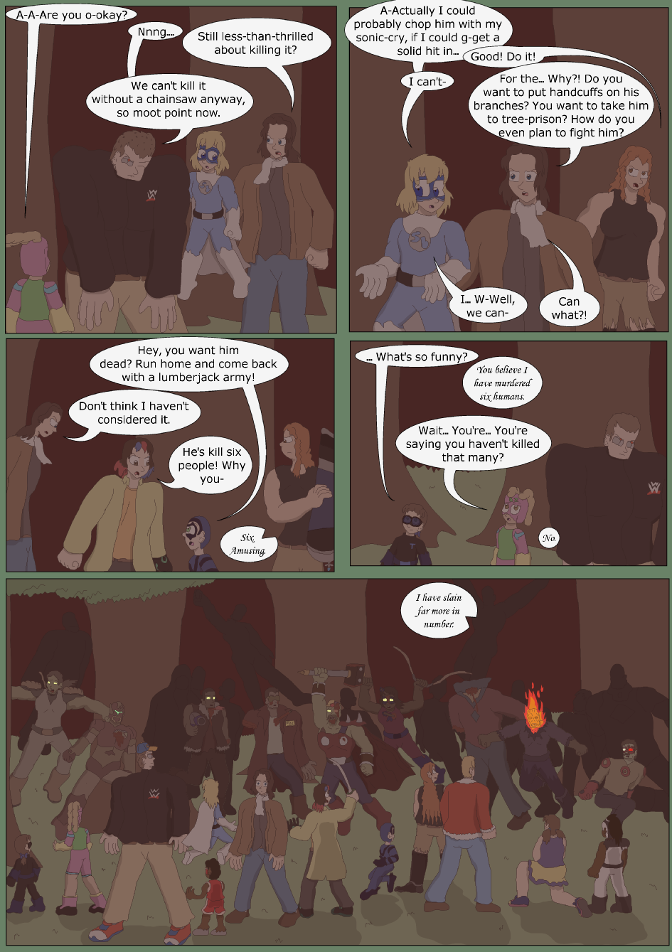 Blue vs. Green, Page 35