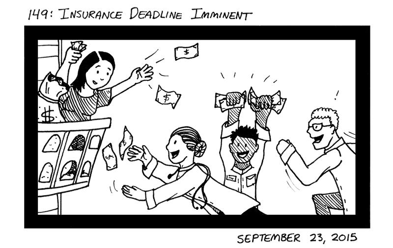 Insurance Deadline Imminent