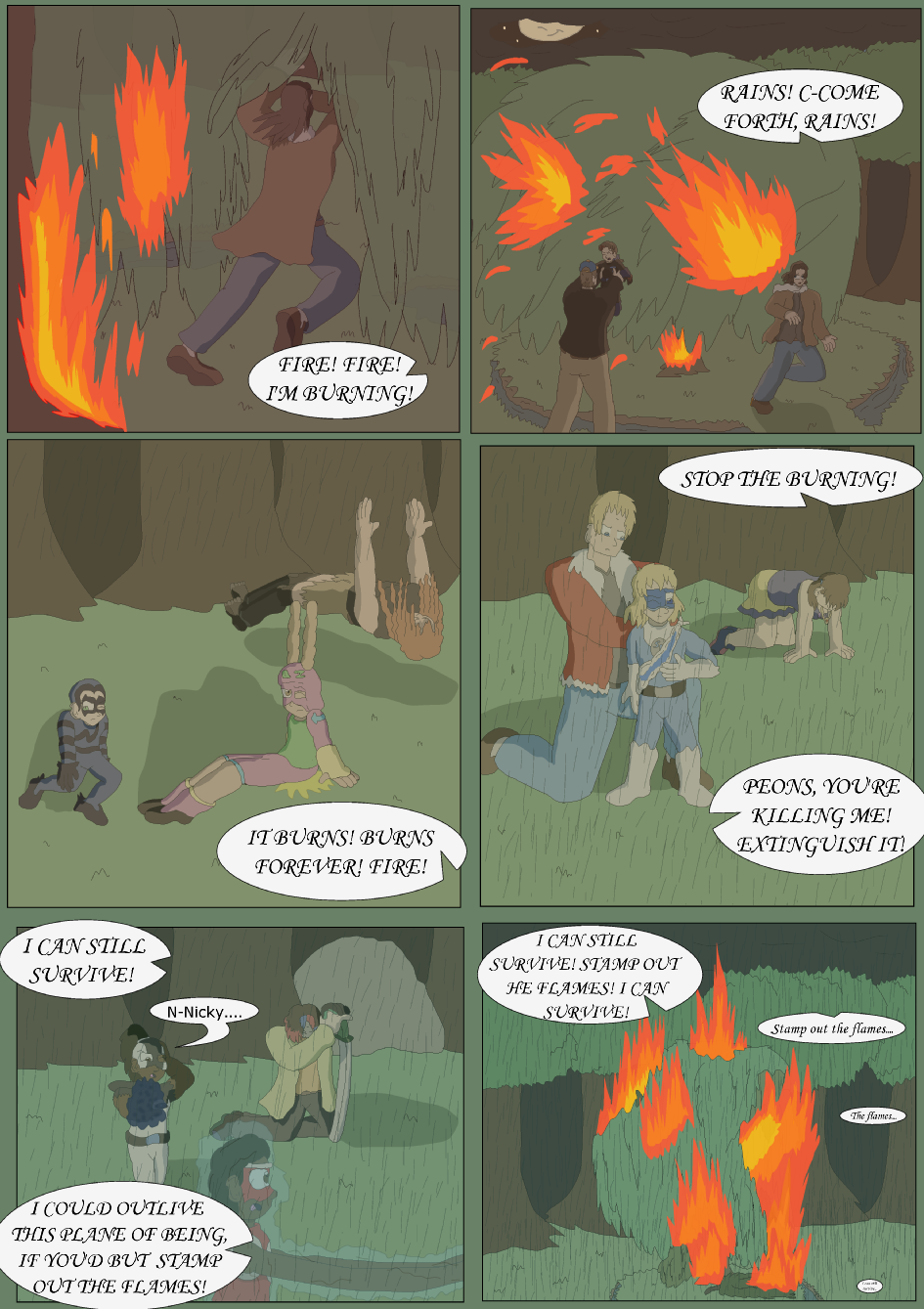 Blue vs. Green, Page 41