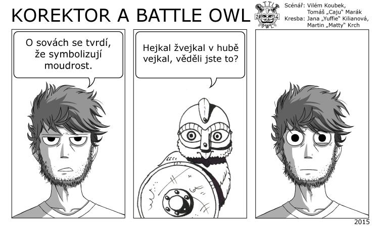 Korektor a Battle Owl