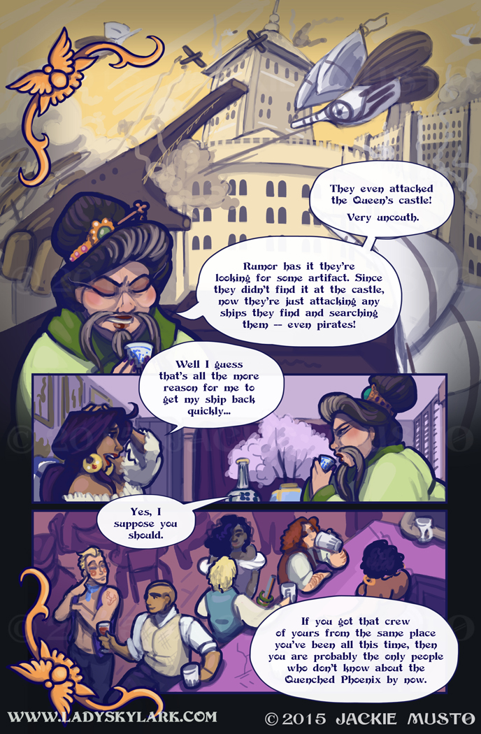 Lady Skylark and the Queen's Treasure - Page 184