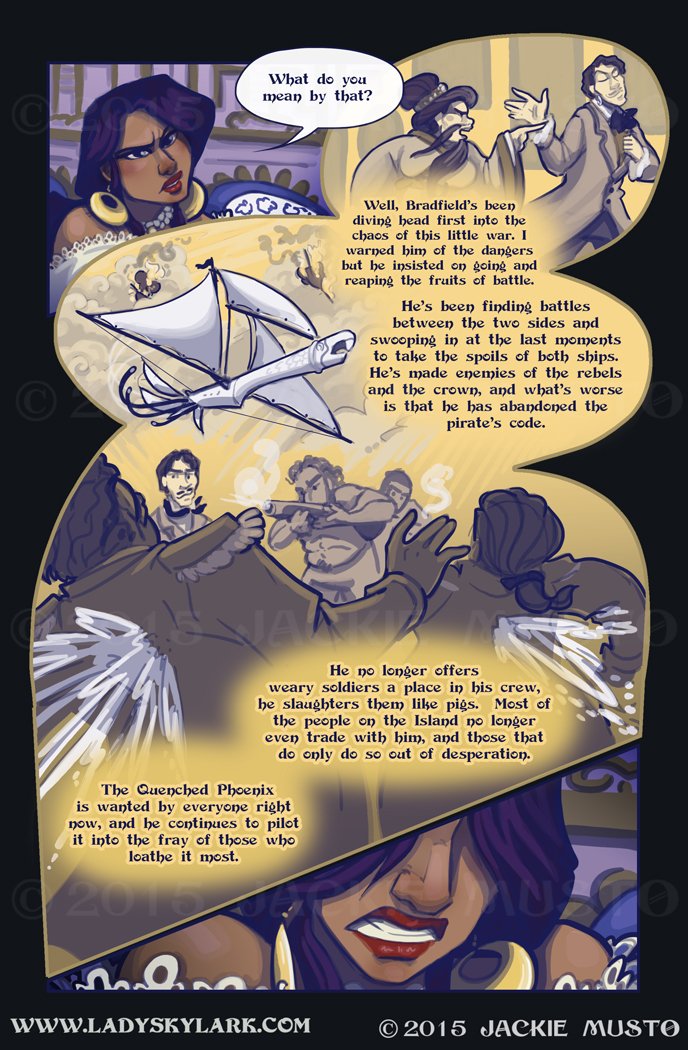 Lady Skylark and the Queen's Treasure - Page 185