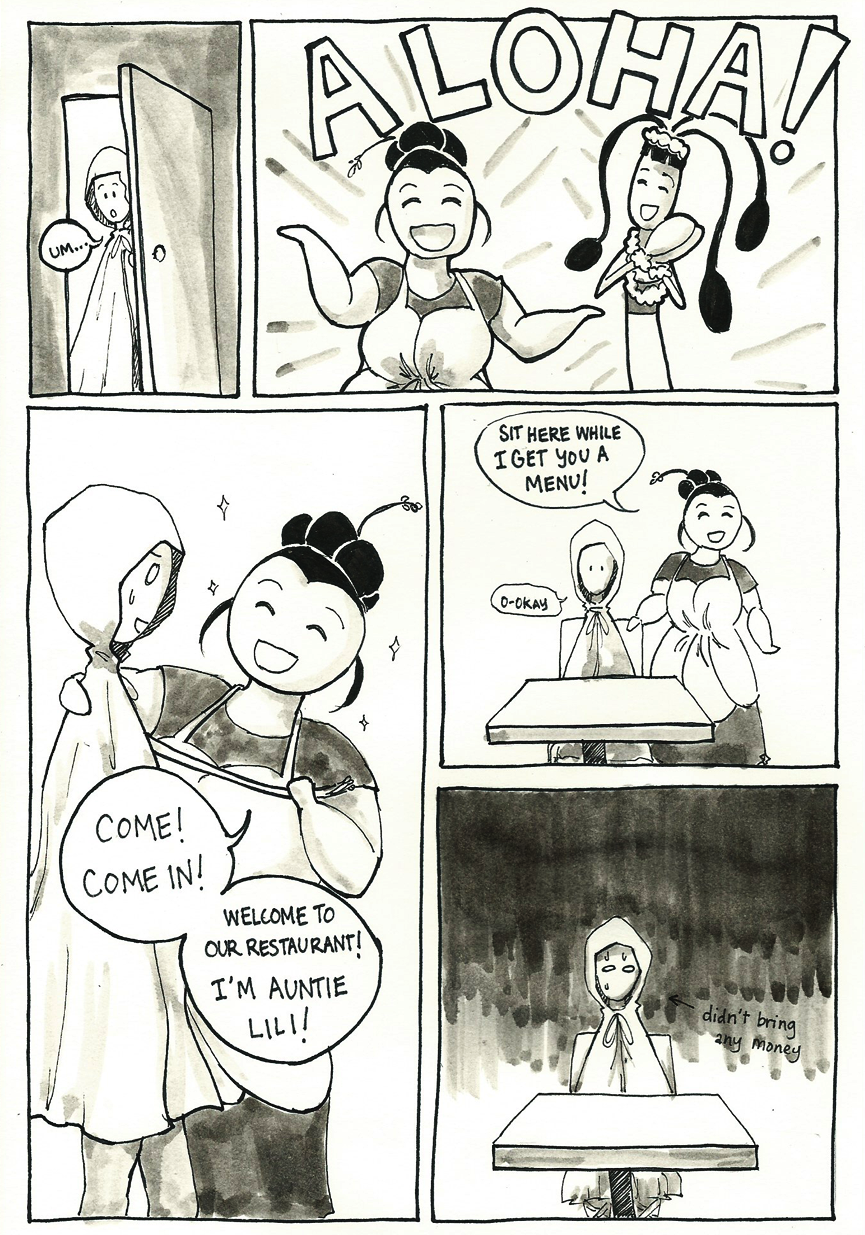 Inktober Special -- The Adventures of Princess Talia -- 18