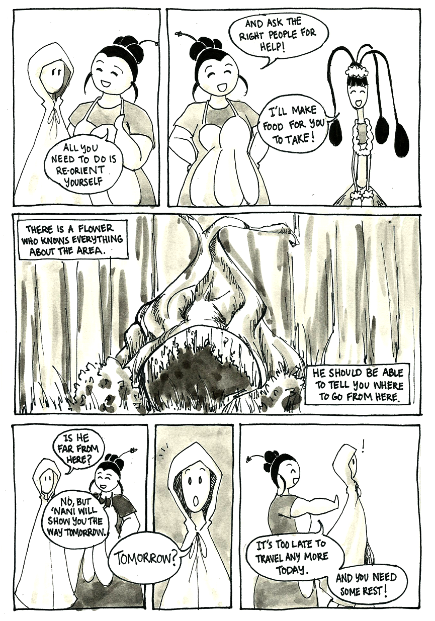 Inktober Special -- The Adventures of Princess Talia -- 28