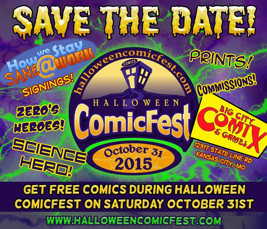 TPS Tues: Halloween ComicFest