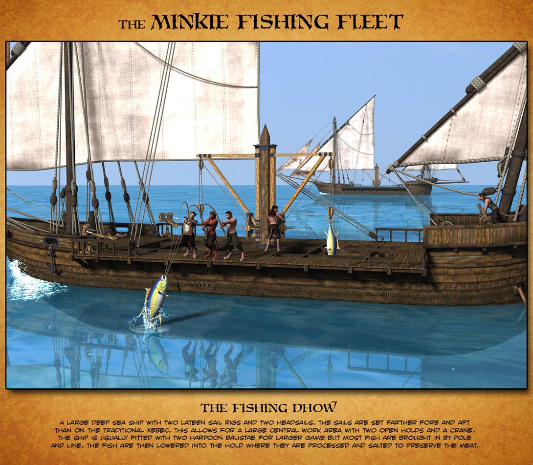 Minkie Fishing