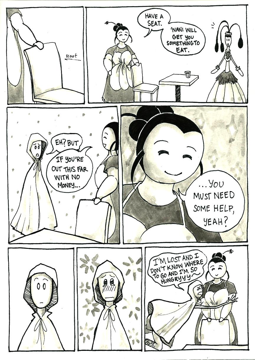 Inktober Special -- The Adventures of Princess Talia -- 21