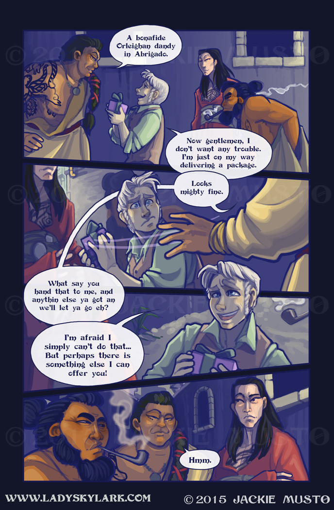 Lady Skylark and the Queen's Treasure - Page 189