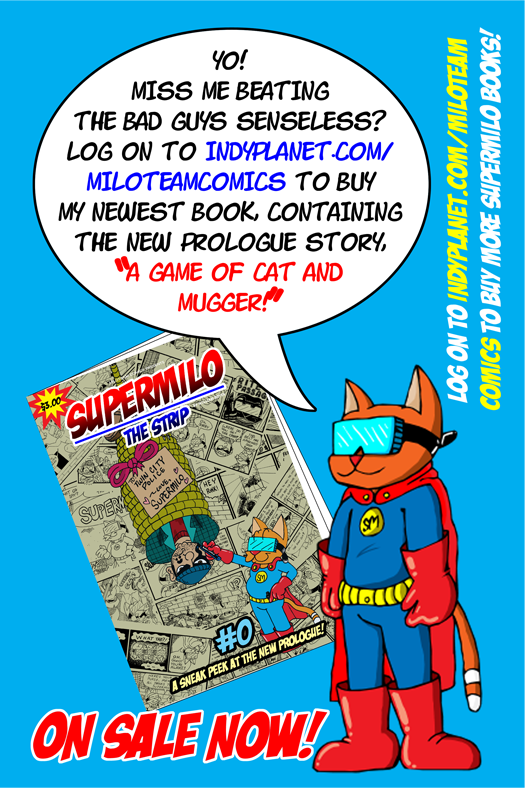 SuperMilo Issue #0 Advert