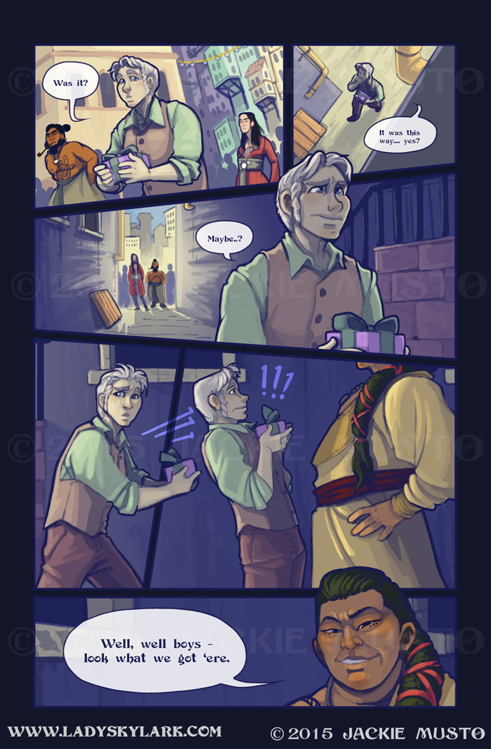 Lady Skylark and the Queen's Treasure - Page 188