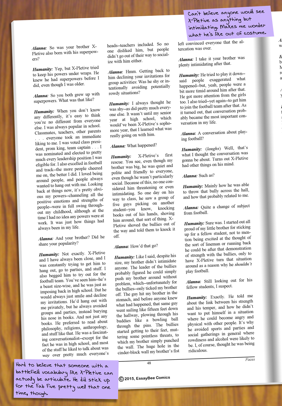 Interleude--Faces Magazine Interview 4 Page 3