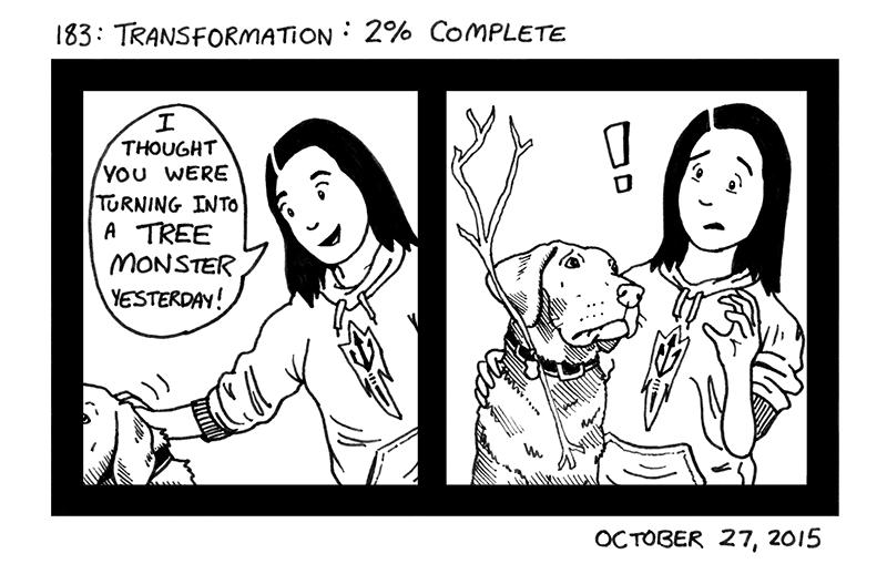 Transformation: 2% Complete