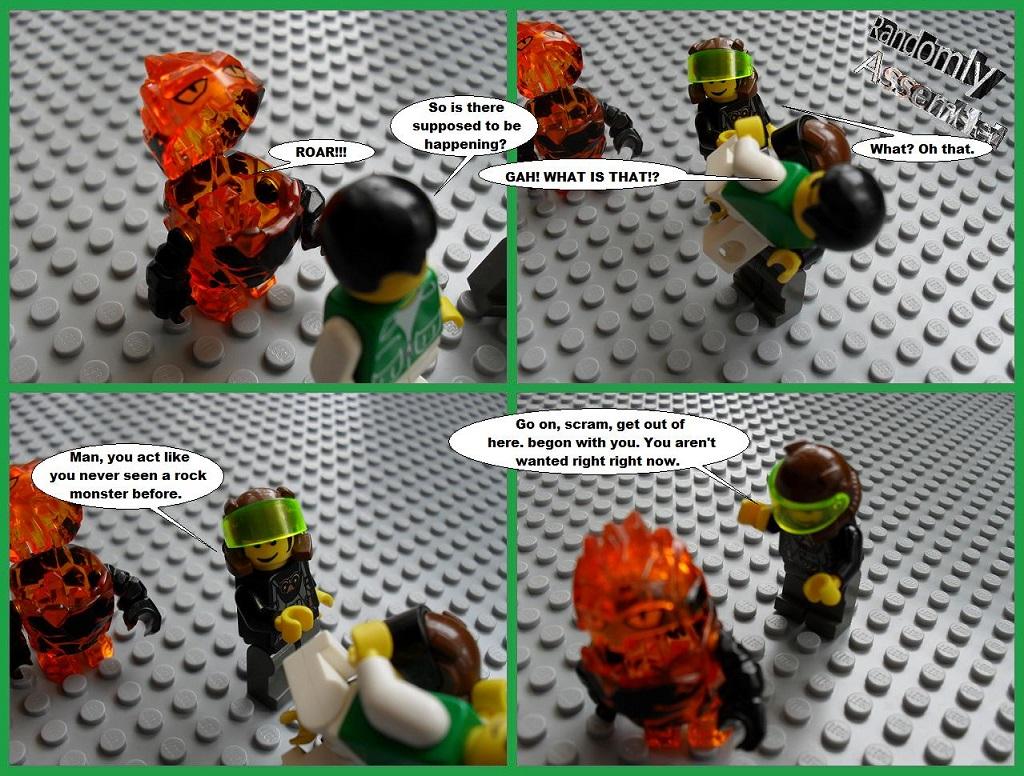 #360-Harmless rock monster