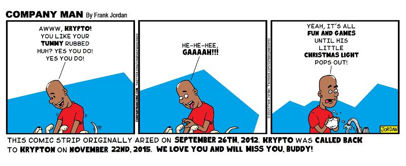 For the love of Krypto. 11/24/15