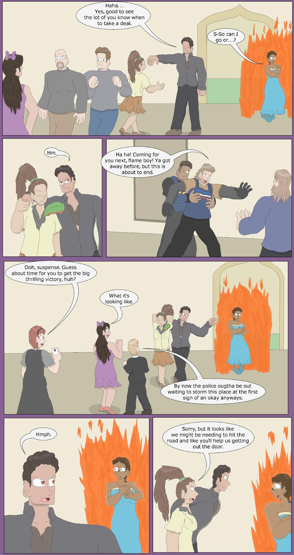 Shopping Star, Burning Bright- Page 29