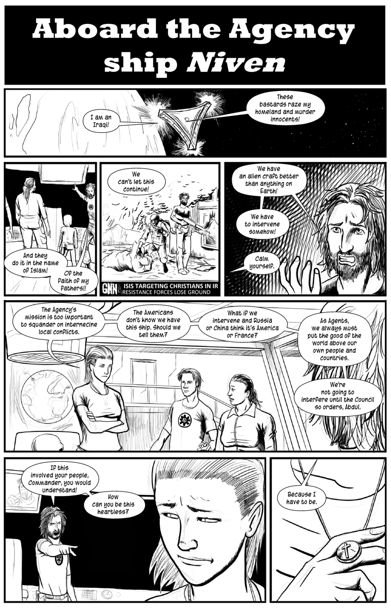 EvAb Short 6 - A Tragedy in Seven Panels