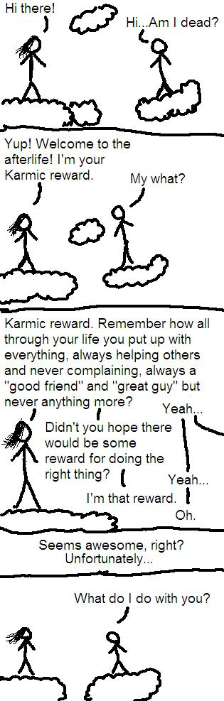 Karmic Retribution