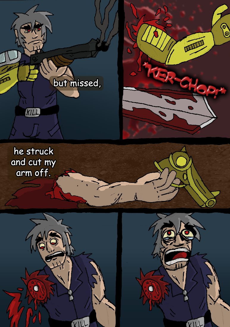 The Fight Against Chaos Blade : 04
