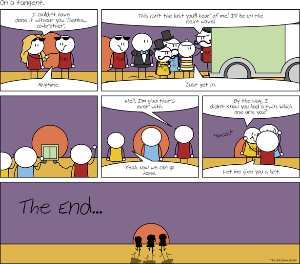 On a tangent - The End