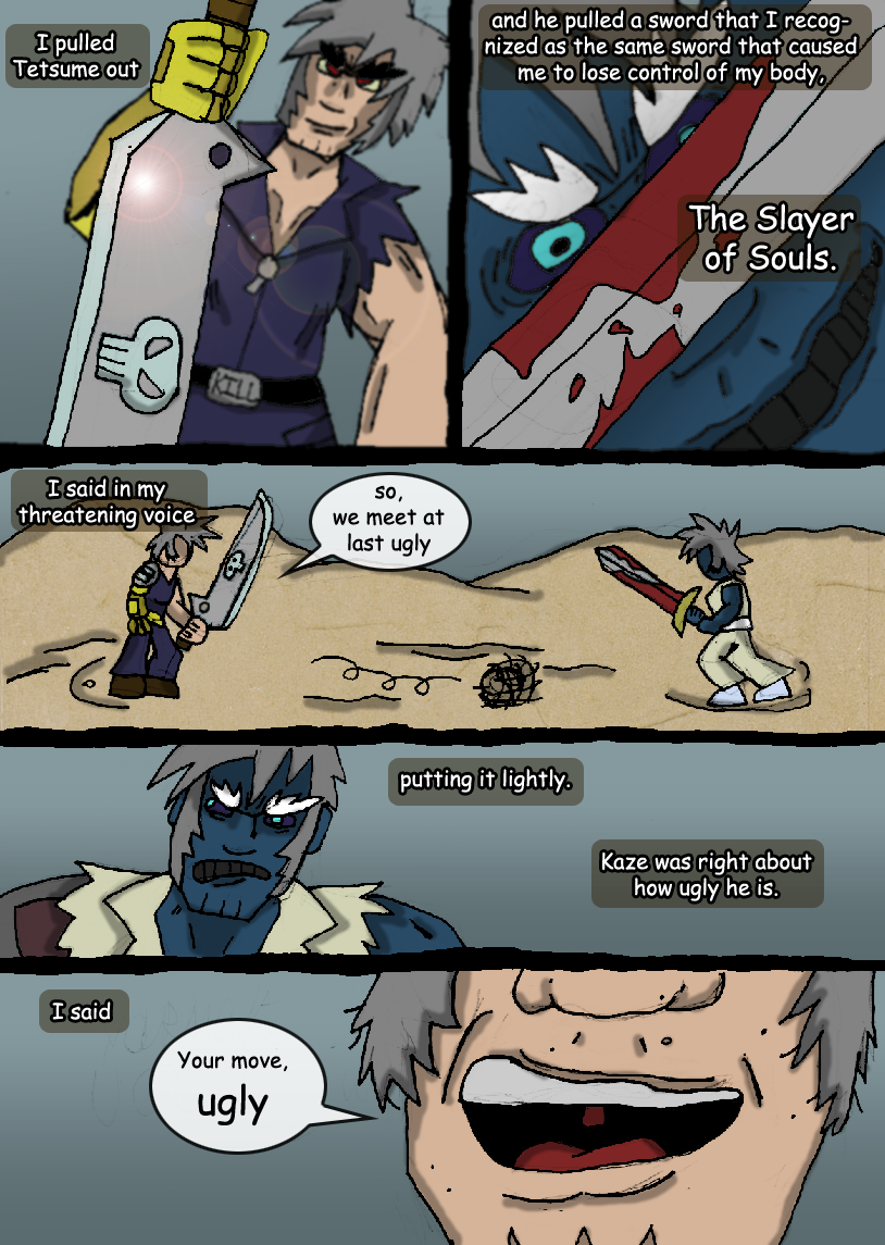 The Fight Against Chaos Blade : 02