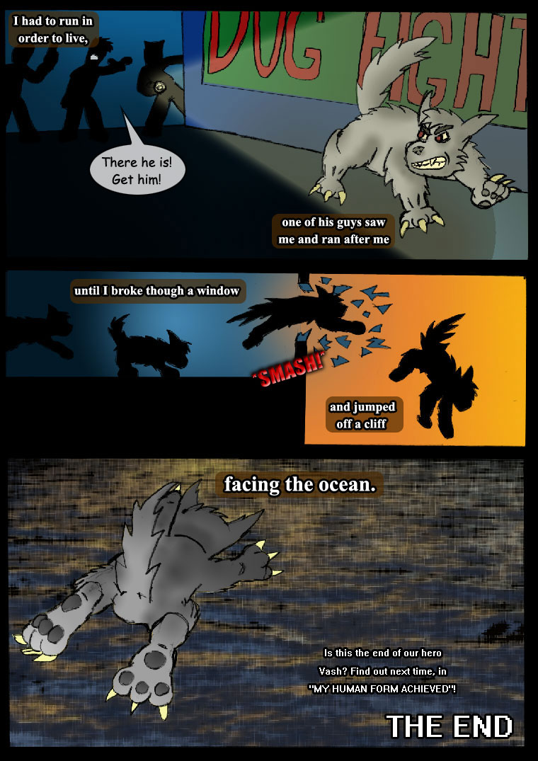 The Ture Meaning of Fighting : 06