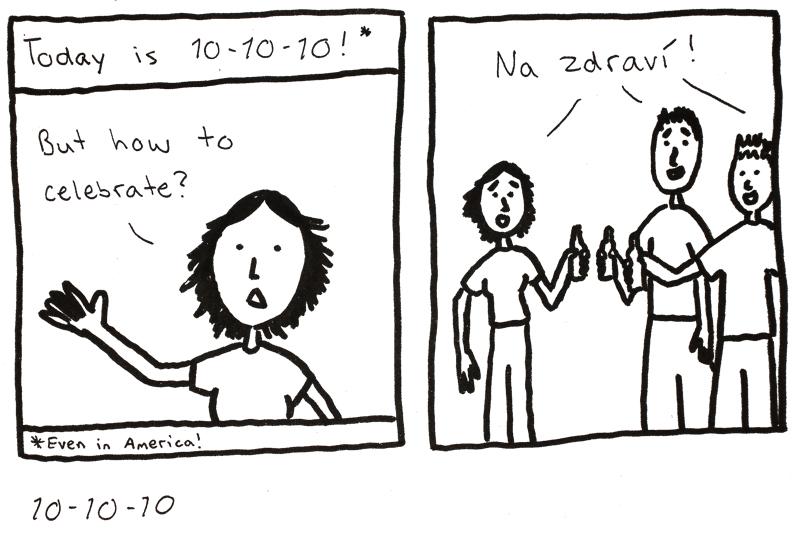10 October 2010