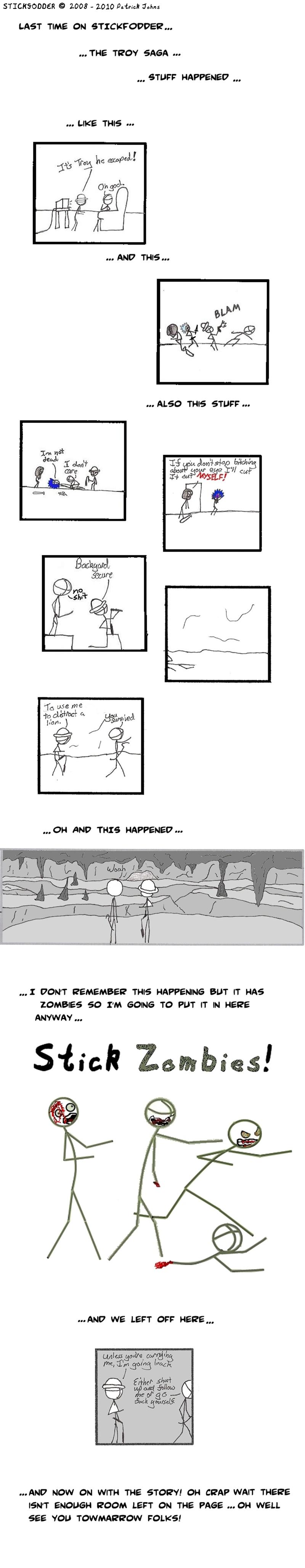 The Troy Saga: Recap 1